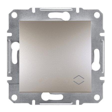 Schodišťový vypínač bez rámečku, hnědá Schneider Electric Asfora EPH0400169