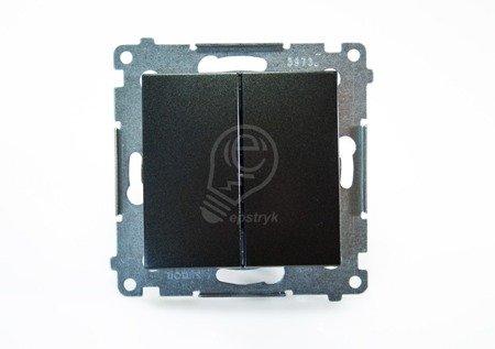 Simon 54 Premium Antracit Přepínač sériový (modul) rychlospojka, DW5.01/48