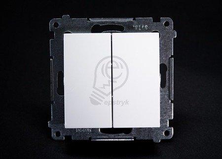 Simon 54 Premium Bílý Přepínač sériový (modul) rychlospojka, DW5.01/11