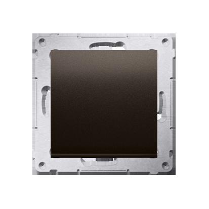 Simon 54 Premium Hnědá, matný Vypínač jednonásobný (modul) X šroubové koncovky, DW1A.01/46