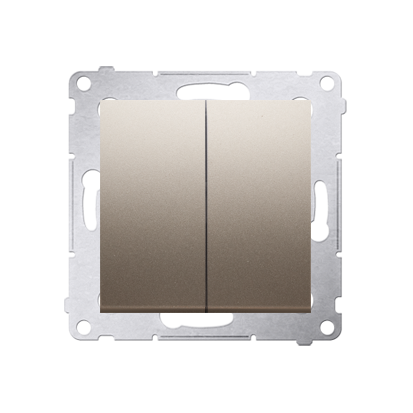 Simon 54 Premium Zlatá Přepínač sériový (modul) rychlospojka, DW5.01/44