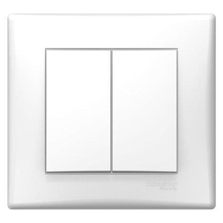 Spínač sériový bílá s rámečkem Sedna SDN0300221 Schneider Electric