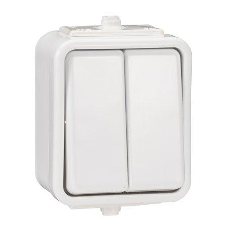 Spínač sériový hermetický IP44 bílá Cedar Schneider Electric WNT500C01