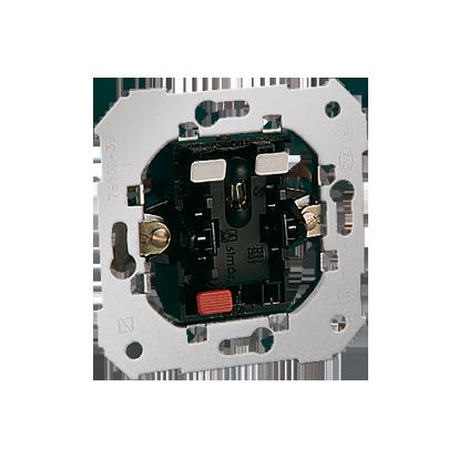 Spínač zkratovací- Tlačítko s podsvícením Kontakt Simon 82 75160-39