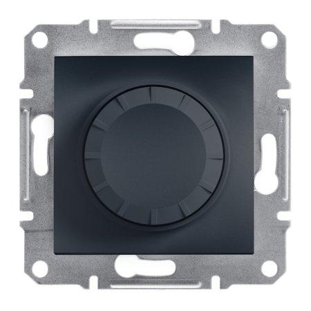 Stmívač RC (schodišťový vypínač) bez rámečku, antracit Schneider Electric Asfora EPH6600171