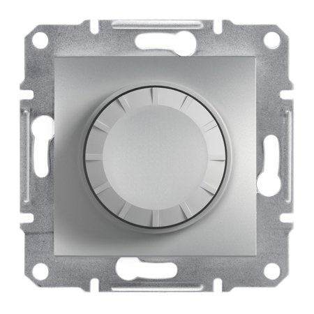 Stmívač RL (schodišťový vypínač) bez rámečku, hliník Schneider Electric Asfora EPH6400161