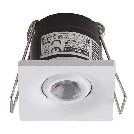 Stropní bodové svítidlo LAURA LED, 1W, 4000K, bílá, 3163, Horoz