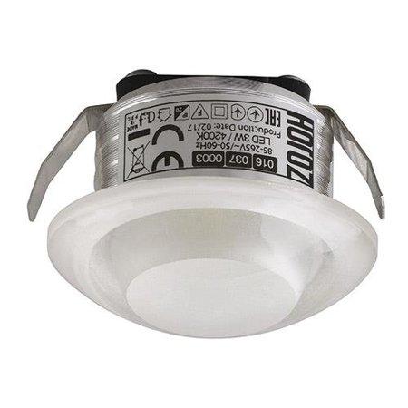 Stropní bodové svítidlo RITA LED, 3W, 4000K, průhledné, 3157, Horoz
