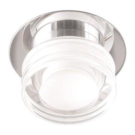 Stropní dekorativní svítidlo IZA LED, 6W, IP44, 4000K, průhledné/chrom, 3180, Horoz