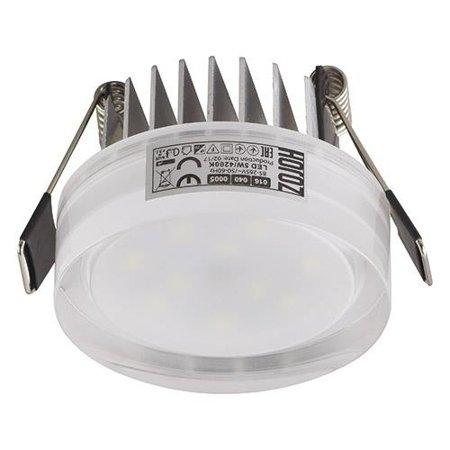 Stropní dekorativní svítidlo VALERIA-5 LED, 5W, 4000K, průhledné, 3158, Horoz