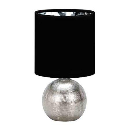 Stropní lampa PERLO E14 SILVER/BLACK Struhm 03290