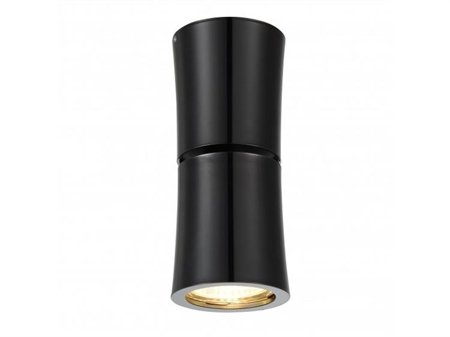 Stropní nástěnné svítidlo Lino černá chrom Azzardo NC1802-YLD-BK/CH