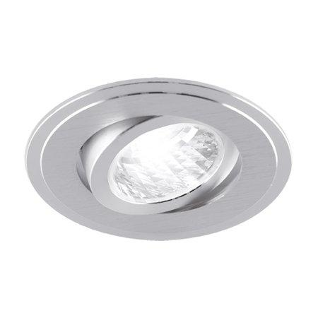 Stropní svítidlo, kulaté očko Alum GU10 C Silver Struhm