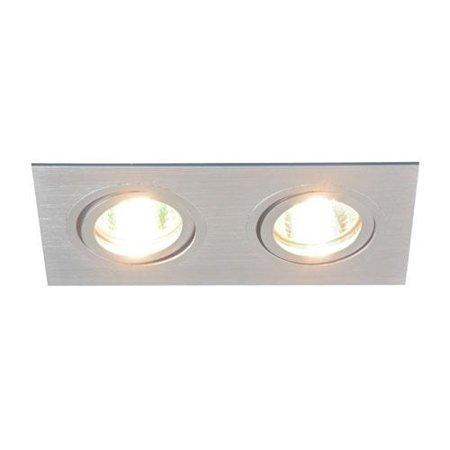Stropní svítidlo, očko Alum L GU10 Silver Struhm