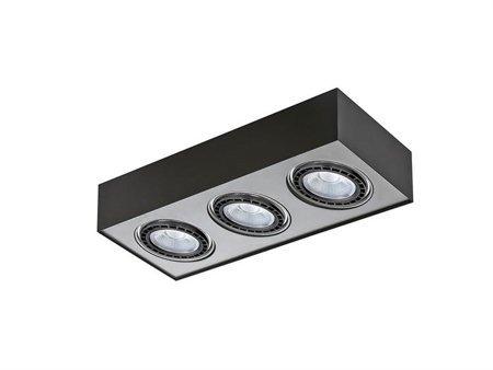Svítidlo stropní Paulo 3 230V LED 16W černá hliník Azzardo GM4301