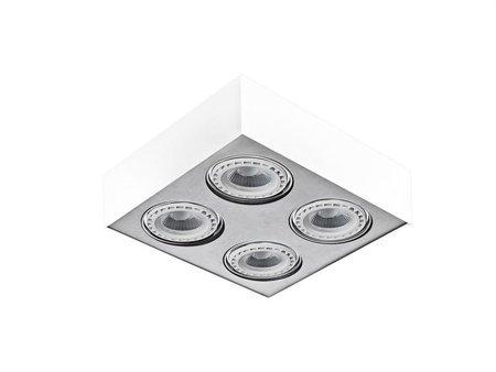 Svítidlo stropní Paulo 4 12V bílá hliník Azzardo GM4400
