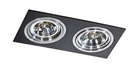 Svítidlo stropní podomítkové Siro 2 černá hliník Azzardo GM2200