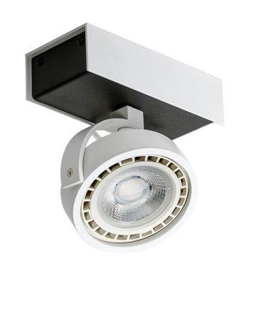 Svítidlo stropní reflektor Max 1 230V 16W LED černá bílá Azzardo GM4114-230V