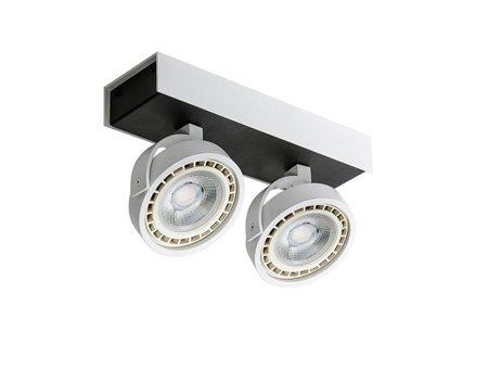 Svítidlo stropní reflektor Max 2 230V 15W LED ściemnialny černá bílá Azzardo GM4206-230V