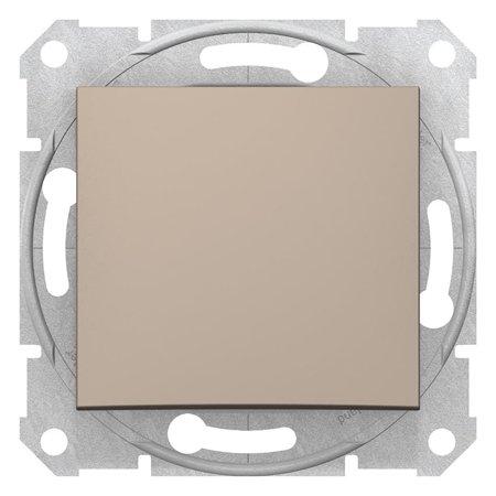 Tlačítko saténová Sedna SDN0700168 Schneider Electric