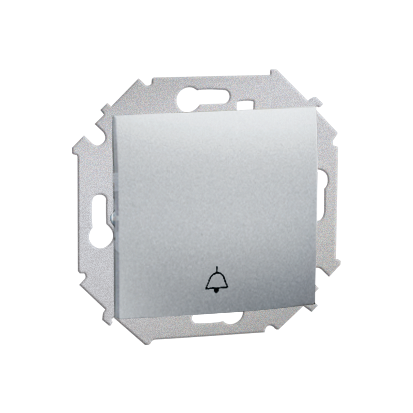 """Tlačítko """"zvonek"""" pro verzi IP44 hliník (kov) Kontakt Simon 1591659B-026"""