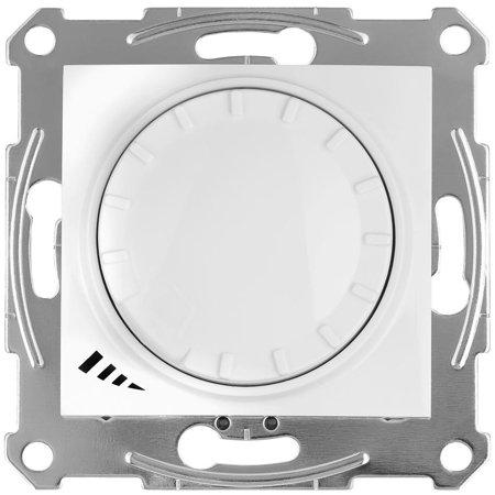 Univerzální stmívač s funkcí schodišťového vypínače bílá Sedna SDN2201221 Schneider Electric