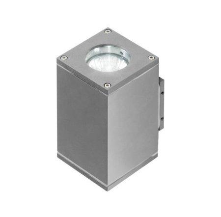 Venkovní lampa Nástěnné svítidlo Livio 2 popélavá Azzardo GM1101-2