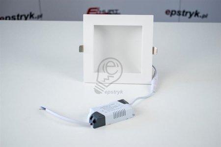 Vestavné svítidlo CINDER LED D 16W 4000K hranaté Struhm