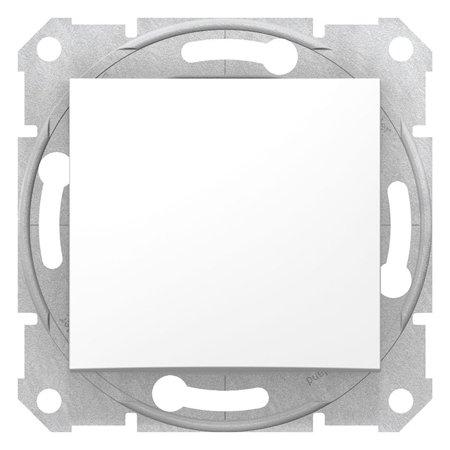 Vypínač 1-pólový bez rámečku bílá Sedna SDN0190221 Schneider Electric