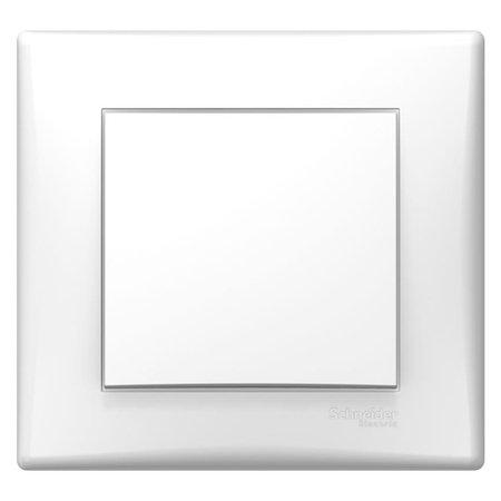Vypínač 1-pólový bílá s rámečkem Sedna SDN0100221 Schneider Electric