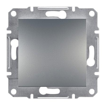 Vypínač 1-pólový šroubové svorky bez rámečku, ocel Schneider Electric Asfora EPH0100362