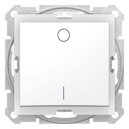 Vypínač 2-pólový IP44 bílá Sedna SDN0200321 Schneider Electric