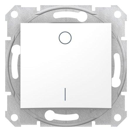 Vypínač 2-pólový bílá Sedna SDN0200221 Schneider Electric