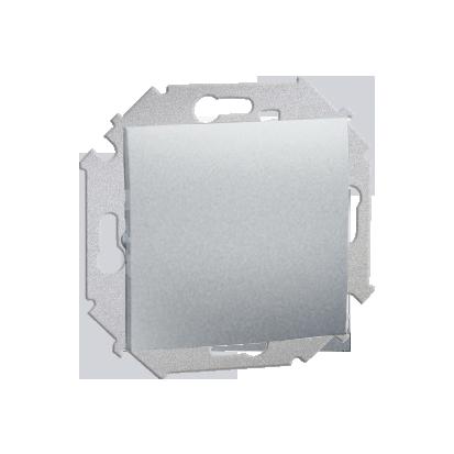 Vypínač jednonásobný (modul) šroubové koncovky, hliník (kov) Kontakt Simon 1591101-026