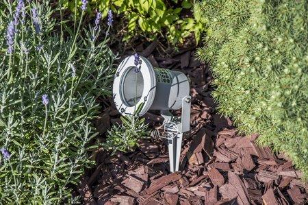 Zahradní reflektor do země Diego GU10 IP65 šedá GTV