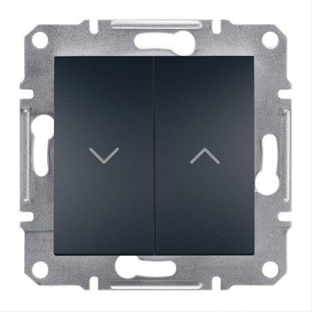 Žaluziový vypínač bez rámečku, antracit Schneider Electric Asfora EPH1300571