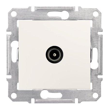 Zásuvka TV průchozí 4dB krémová Sedna SDN3201823 Schneider Electric