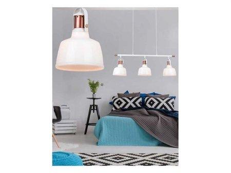 Závěsná lampa Darling 3 line bílá Azzardo MD71940-3A