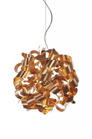Závěsná lampa Delta Oxide měď Azzardo MD05010015-9C