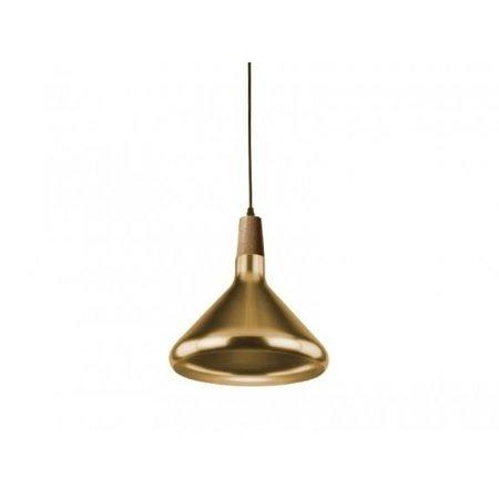 Závěsná lampa Ida AGO M zlatá Azzardo 42931-1D AGO