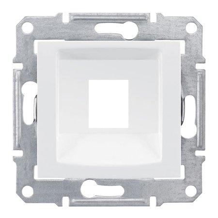 deska do 1xRJ45: SYSTIMAX bílá Sedna SDN4300521 Schneider Electric